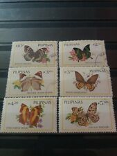 Philippines Stamps 1984 Butterflies.Complete Set