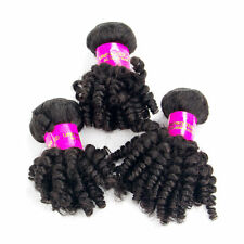 """8""""10""""12"""" Afro Kinky Curly Hair Weave Unprocessed Peruvian Human Hair Extension"""