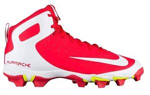 Nike Huarache 2KFILTH Keystone Red Mid Baseball Cleats Style 807141-617 Size 13