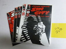 SIN CITY  A  DAME TO KILL FOR SET  1-6  9.4