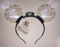 2019 Disney Parks Disneyland Haunted Mansion 50th Anniversary Light Up Headband