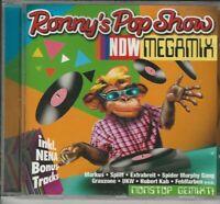 RONNY'S POP SHOW  neu  CD NDW Megamix Markus, Spliff UKW usw