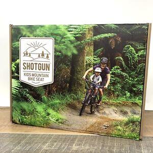 ShotGun Kids Bike Seat for Mountain Bikes, Front Mounted Bicycle Seats - New
