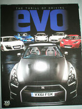 Evo No 168 Apr 2012 Porsche 911, Bentley GTC, Audi A1 Quattro