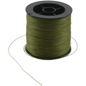 500 M 30 LB 0.26mm fishing line strength PE Braided 4 Strands green  E3B4