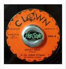 AL DOCTOR HORSE PITTMAN 45 RE-CRAZY BEAT- SUPERP CLOWN BLACK JIVER LISTEN