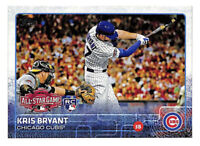 2015 Topps Update US242 Kris Bryant All Star Game rookie RC card Cubs