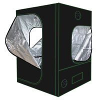 Hydroponics 600D Mylar Reflective Grow Tent Room for Indoor Plant Growing