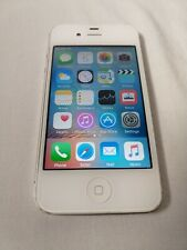 Apple iPhone 4s 16GB White (Unlocked) A1387 (CDMA + GSM) Good working condition.