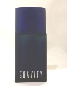 GRAVITY by COTY 100ml 3.4oz Splash Cologne Men (non-spray) NEW NO BOX (HD35