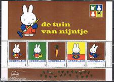 Nederland 3012 Postzegelvel Dick Bruna - De tuin van Nijntje  * Miffy