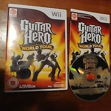 Guitar Hero World Tour (Nintendo Wii, 2008) Game