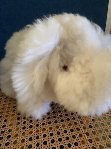 Alpaca Fur Wooly Mammoth  Soft Toy H20cm L29cm. New.