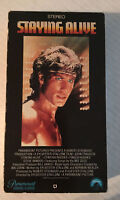 STAYING ALIVE 1983 VHS JOHN TRAVOLTA, CYNTHIA RHODES PARAMOUNT PICTURES
