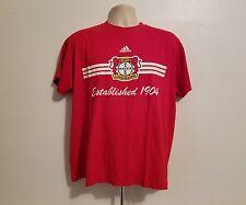Adidas 1904 Bayer Leverkusen Adult Large Red Football TShirt