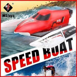 WLtoys WL915 2.4G 2CH RC Boot 45Km/H High Speed Fernbedienung Racing Boat Schiff