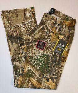 Realtree Edge Camouflage Men's 5 Pocket Pants, Flex Fabric, Various sizes, NWT
