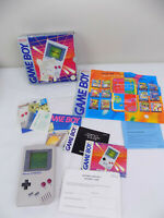 Boxed Genuine Nintendo Gameboy DMG-01 Game Boy Console - Complete