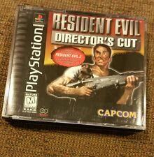 Resident Evil Director's Cut (Sony PlayStation 1, 1997) Black Label