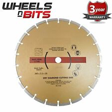 "12"" 30cm Diamond Cutting Disc Blade Angel Grinder Cutting Saw 300mm Stone Brick"