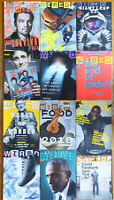 Wired Magazine Lot COMPLETE 2016 every issue January-December 2016, 12 issues