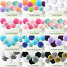 9 Pcs Mixed Tissue Paper Pompoms Pom Poms Hanging Garland Wedding Party Decor A