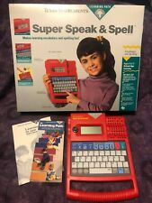 Vintage Super Speak & Spell Electronic Learning Path System - Texas Instruments