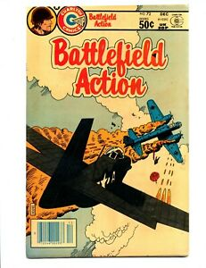 Battlefield Action #72    Charlton 1981