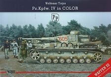 Pz.Kpfw. IV in Color with Waffen SS by Waldemar Trojca