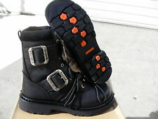 Harley davidson men boots 8' winchester big 2 buckle size 10 us new with box