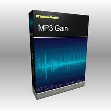 MP3 Gain Increase Volume Music Normalizer Software Computer Program