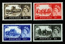 SG759-762, castles SET, NH MINT. Cat £15.