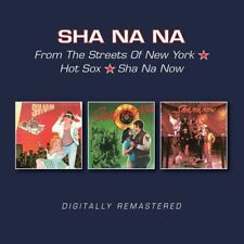 Sha Na Na : From the Streets of New York/Hot Sox/Sha Na Now CD (2017) ***NEW***