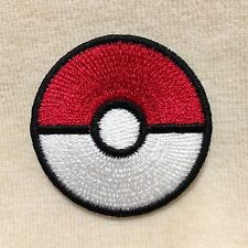 1.5 inches POKEBALL STORING POKEMON EMBROIDERY IRON ON PATCH BADGE