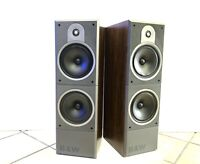 BOWERS & WILKINS B&W DM-620 Speaker 3 Way 100 Watts RMS Hi End Working Like New