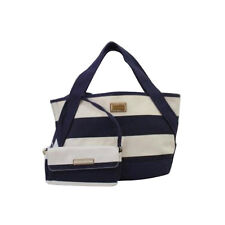 Tommy Hilfiger 6929239 423 Tote MN FL With Pouch Stripe Cream Navy agsbeagle
