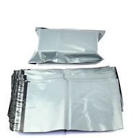 "GREY POLY POSTAL POSTAGE MAILING BAGS 12"" X 16.5"" 10 50 100 200 500 ENVELOPES"
