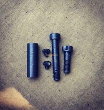 Set of WW2 german  K98 mauser triggerguard tang and locking screws
