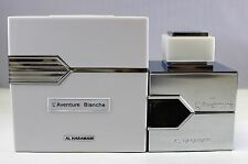 L'aventure Blanche By Al Haramain Eau De Parfum Spray 3.4 Oz SEALED NEW BOX