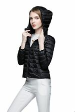 New winter coat Women's Slim Down cotton hooded collar short coat zipper jacket