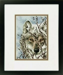 Wolf - Dimensions Gold Petite: Counted Cross Stitch D70-65131