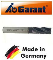 GARANT Germany End Mill 10mm HSSCo8% Shank Dia 10MM Coat 4-Flute No121