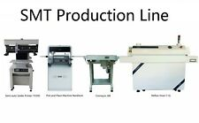 PCBA SMT Line Pick and Place Machine NeoDen4+Solder Printer+Conveyor+Reflow Oven