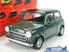 AUSTIN MORRIS MINI COOPER MODEL CAR GREEN 1:36-1:38 SCALE WELLY NEX MC49720W K