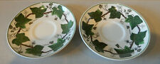 Napoleon Ivy Green (Queensware) by Wedgwood - SET OF 2 Saucers