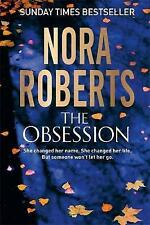 """""""AS NEW"""" Roberts, Nora, The Obsession, Book"""