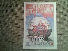 Programm FC St.Pauli - FC Erzgebirge Aue 12/13