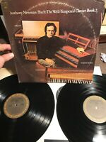 Anthony Newman Bach Well Tempered Clavier Book 2 Columbia Vinyl Album Record