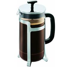 Bodum Jesper French Press Coffee Maker, Shiny, Black, 1.0 Litres, 8 Cup Capacity
