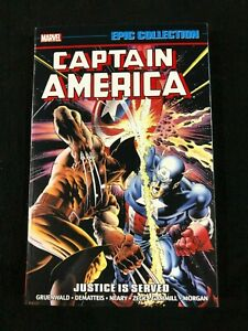Captain America Justice is Served Epic Collection Graphic Novel Softcover